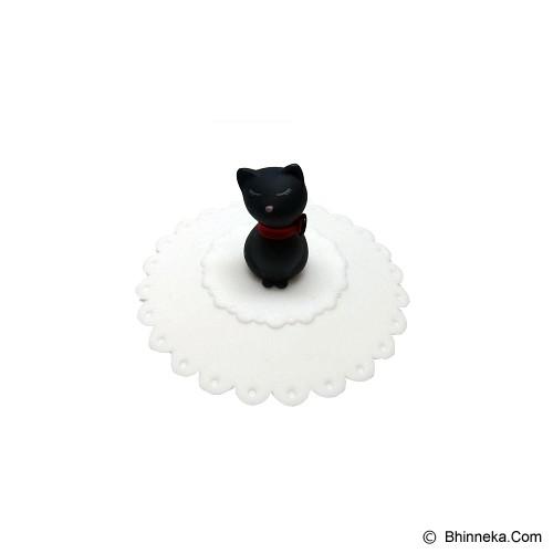 TOKYO1 Tutup Gelas Silicone Model Kucing [TKY11005KCC] - White - Gelas